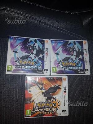 Pokemon ultra sole e ultra luna 3ds nuovo sigillat