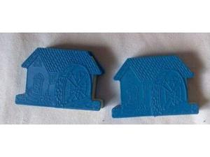 Sorpresine del mulino bianco - 2 casette blu