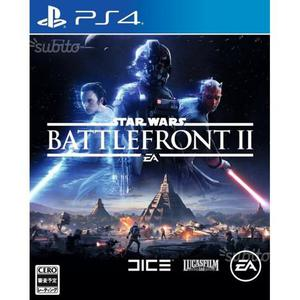 Star Wars Battlefront 2 ps4 nuovo