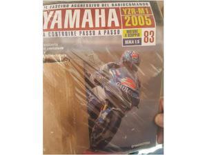 Tutti i fascicoli per costruire Yamaha M1 RC motore a