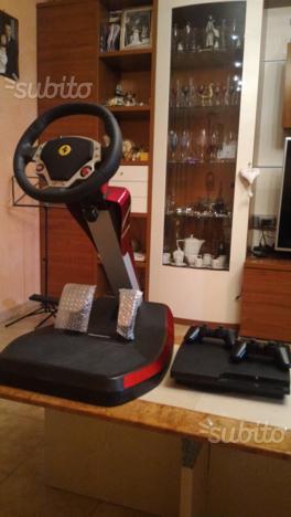 Volante Ferrari +Ps da 160 gb slim + HD 750g