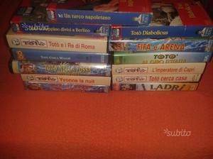 26 Film Di Totò in VHS da collezione