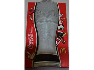 Bicchiere Coca Cola Mc Donald's Uefa Euro  Nero