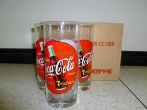 Bicchieri Coca Cola Anni ' 90.
