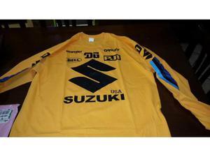 Maglia Suzuki anni 70 nuova