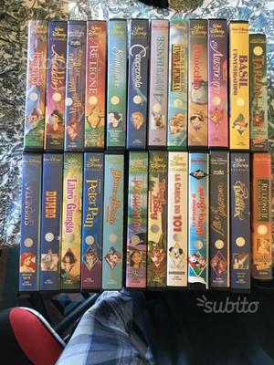 Rare vhs classici Disney