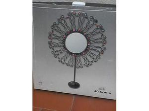 Specchio a forma di sole con conchiglie posot class - Sterlina oro 2017 fondo specchio ...