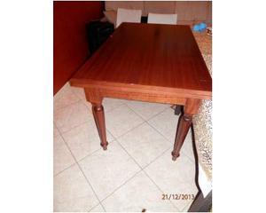 Tavolo in legno allungabile arte povera borgo 140 x 80