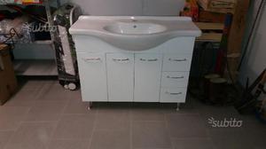 Mobile bagno bombato lungo cm108 posot class for Vendo mobile bagno