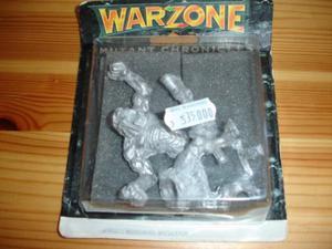Warzone Miniature in piombo