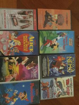 Cassette VHS varie