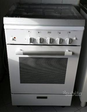 Cucina glem gas a 4 fuochi con forno elettrico posot class - Cucina a gas glem ...