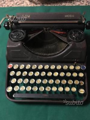 Macchina da scrivere vintage SIM MOD6