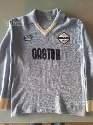 Maglia calcio vintage anni 80 SS Lazio Castor