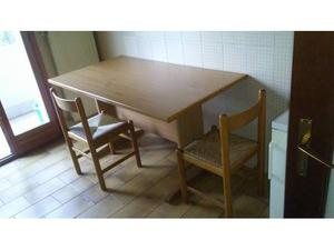 Tavolo cucina con 4 sedie