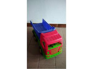 Camion della terra e betoniera