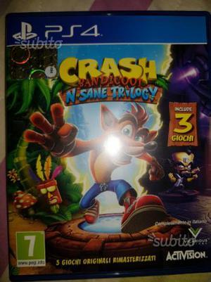Crash bandicot ps4