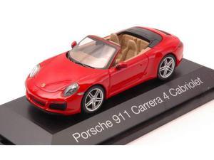 Herpa HP PORSCHE 911 CARRERA 4 CABRIO RED 1:43 Modellino