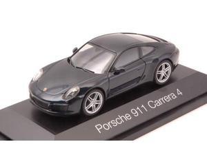 Herpa HP PORSCHE 911 CARRERA 4 COUPE BLUE 1:43 Modellino