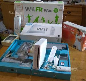 Nintendo Wii con accessori