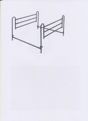SPONDE universali per letto