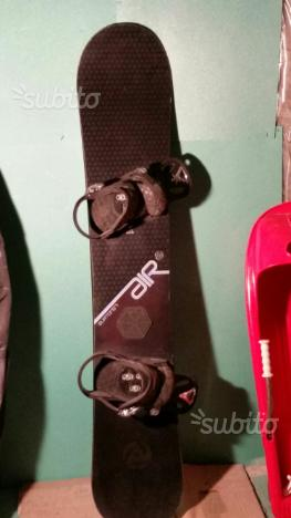 Tavola da snowboard, Burton air, con attacchi