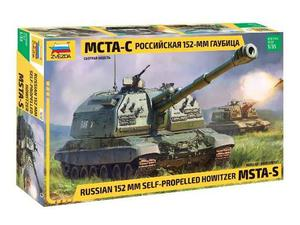 Zvezda Z RUSSIAN MSTA 2S19M2 SELF PROPELLED GUN 152 mm