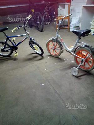 2 bici per bambini ottime