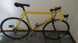 Bici da corsa in alluminio e carbonio tg 56