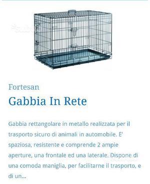 Gabbia in rete per cani