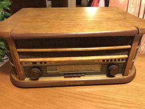 Giradischi majestic tt-34 con usb, cd, radio e musicassette.
