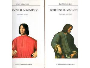 Ivan Cloulas Lorenzo il Magnifico 2 Volumi Il Giornale