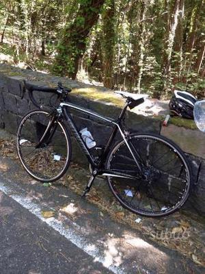 Specialized bici corsa con ruote fulcrum zero