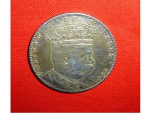 Tallero argento 5 lire colonia eritrea umberto primo