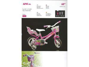 Bici bimba 12 Floppy bicicletta da bambina 3/4 anni