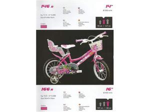 Bici bimba 14 Floppy bicicletta da bambina 5/6 anni