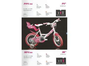 Bici bimba 16 Flappy bicicletta da bambina 5/6 anni