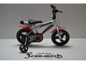Bici bimbo 12 rap bicicletta da bambino 3/4 anni