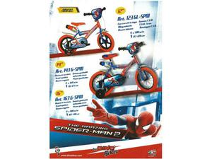 Bici bimbo 12 spiderman bici bimbo 3/4 anni