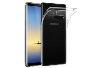 Cover per Samsung Galaxy Note 8 in silicone trasparente