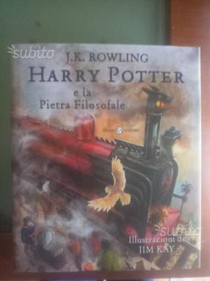 Harry potter e la pietra filosofale illustrato