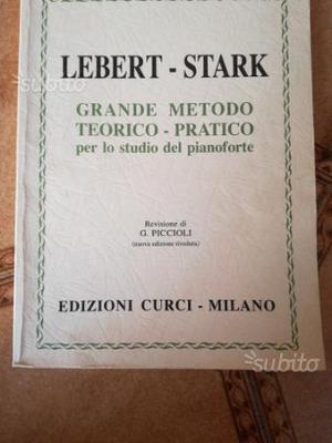 Libro Lebert Stark per pianoforte