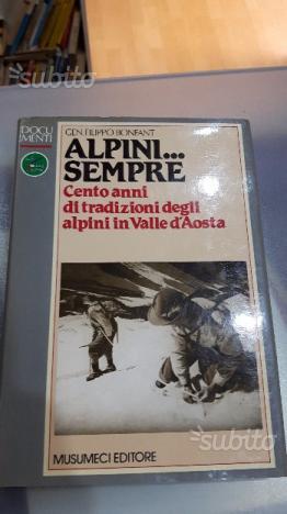 Libro aosta alpini. sempre musumeci