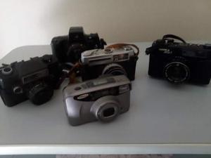 Lotto di 5 macchine fotografiche