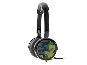 Majestic CRA275 Cuffia 40mm Military style accessorio MP3 PC