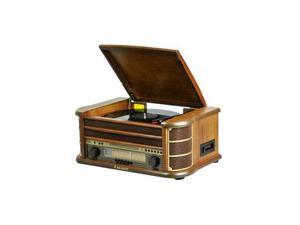 Majestic TT34 giradischi vinile stile retro' lettore CD MP3