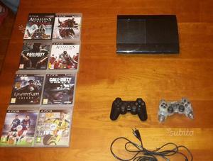 PS3 più accessori e giochi vari