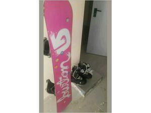 Tavola da snowboard Burton con attacchi