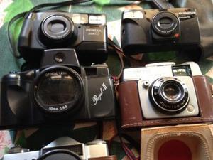 Collezione macchine fotografiche vintage