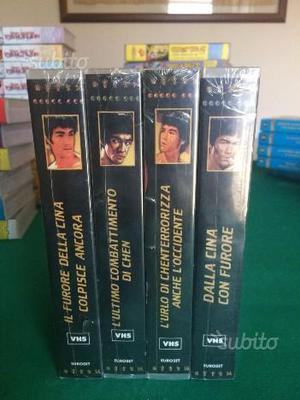 Vhs originali Bruce Lee nuove